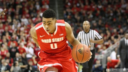 D'Angelo Russell torched VCU for 28 points in the 2015 NCAA Tournament.