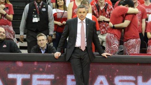 Ohio State men's basketball head coach Chris Holtmann