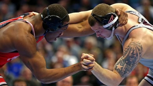 Myles Martin is coming for Bo Nickal - again.