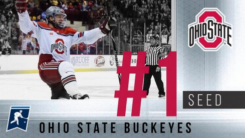 Ohio State earns the first No. 1 seed in program history.
