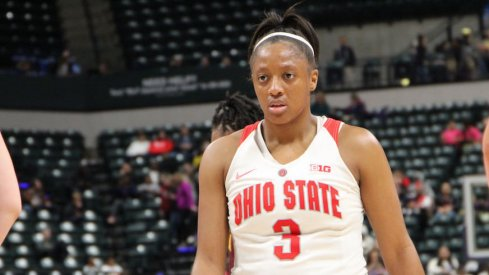 Kelsey Mitchell's Buckeye career comes to a close.