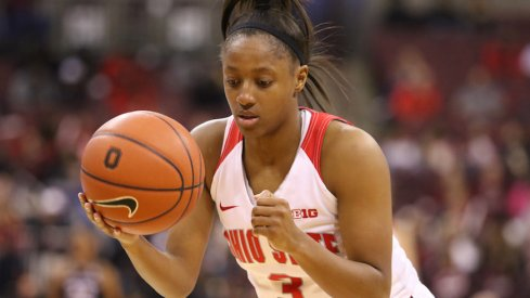 Kelsey Mitchell leaves as one of the greatest Buckeyes of all time.