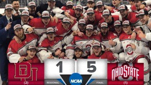 Ohio State is Frozen Four bound!