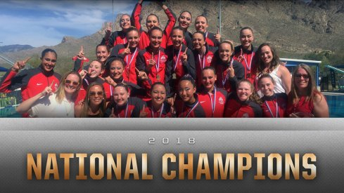 Ohio State's synchronized swimming team captured its 31st national title on Saturday.
