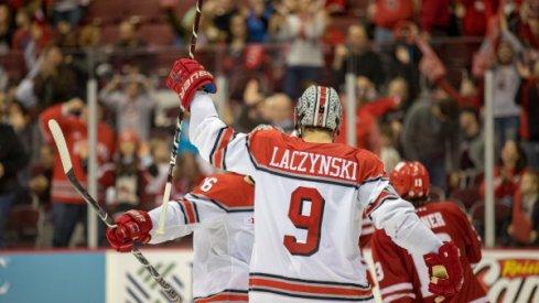 Tanner Laczynski, All-American.