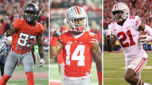 Terry McLaurin, K.J. Hill and Parris Campbell averaged a combined 115.2 receiving yards per game in 2017.