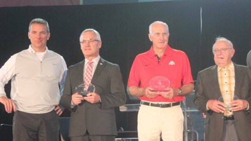 Urban Meyer, Jim Tressel, John Cooper and Earle Bruce