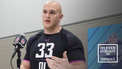 Former Ohio State offensive lineman Billy Price