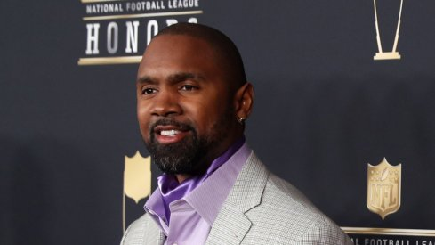 Feb 3, 2018; Minneapolis, MN, USA; Charles Woodson during red carpet arrivals for the NFL Honors show at Cyrus Northrop Memorial Auditorium at the University of Minnesota. Mandatory Credit: Brace Hemmelgarn-USA TODAY Sports