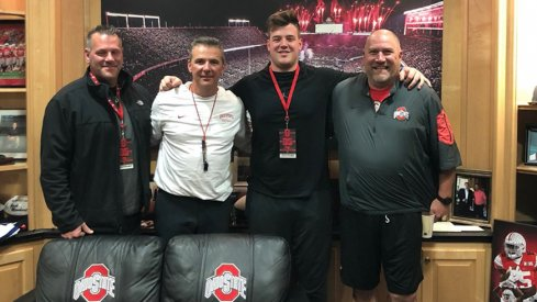 It's looking like an Ohio State vs. Michigan battle for four-star tackle Trevor Keegan.