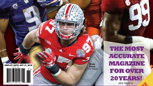Nick Bosa on Phil Steele's Cover