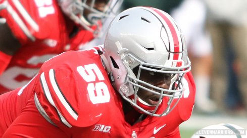 Nick Bosa said tackle Isaiah Prince is ready for a breakout season for the Buckeyes.