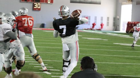 Dwayne Haskins will take the reins of Ohio State's offense this fall, thanks in large part to his ability to drive the ball downfield.