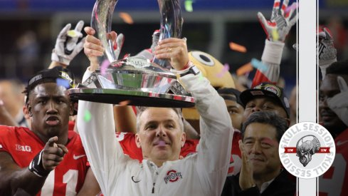 Urban Meyer lifts the July 6 2018 Skull Session