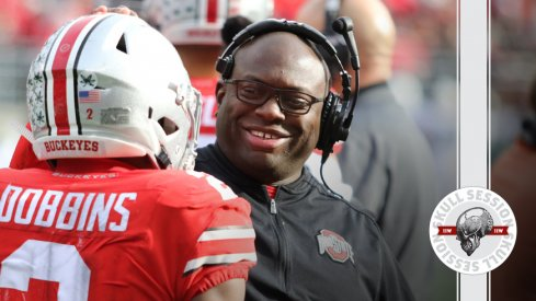 Tony Alford smiles at the July 10 2018 Skull Session