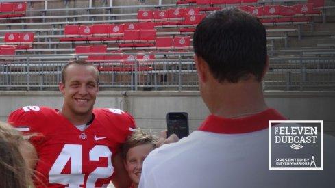 Former Ohio State linebacker Andrew Sweat