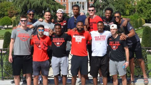 The Ohio State men's basketball team took to Spain for a team trip.