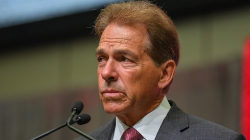 Nick Saban commented on the Urban Meyer situation.