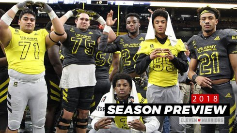 Tommy Togiai, Max Wray, Josh Proctor, Dallas Gant, Kamryn Babb and Jaelen Gill