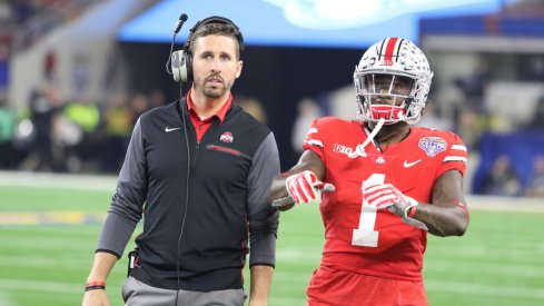Ohio State interim wide receivers coach Brian Hartline inherits a talented receiving core in his first year in the position.