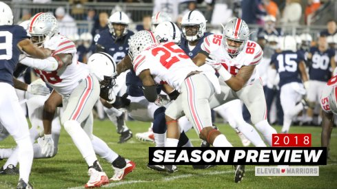 Ohio State at Penn State in 2016