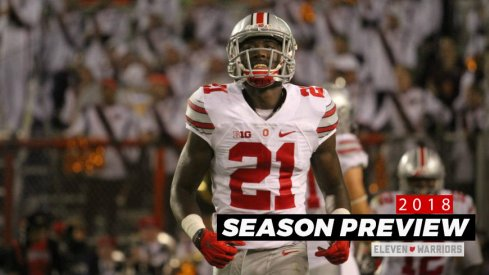 Parris Campbell is poised to lead Ohio State in receiving yards this fall.