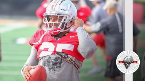 Mike Weber is happy to be in the Wednesday Skull Session.