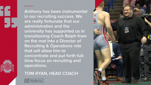 Anthony Ralph Named Director of Recruiting