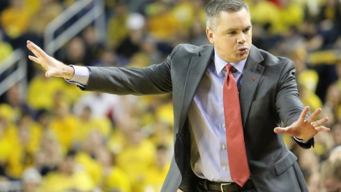 Ohio State basketball coach Chris Holtmann led the Buckeyes to a 25-9 record in 2017-18.