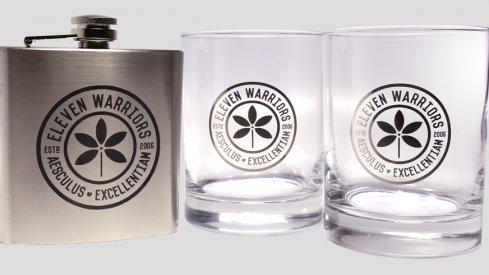 Eleven Warriors Whiskey Glasses