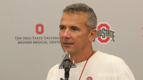 Urban Meyer spoke at his call-in show.