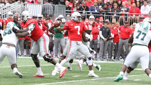 Dwayne Haskins had another big day in limited snaps against the overmatched Green Wave