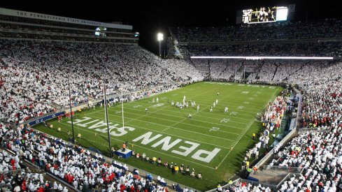 Beaver Stadium during Ohio State's 2016 game at Penn State.