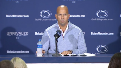 James Franklin said lots of words about Ohio State.