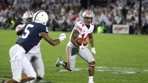 K.J. Hill, Parris Campbell, and J.K. Dobbins resurrected a stagnant offense through a variety of screen passes.