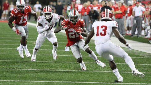 Parris Campbell Cuts it Back Against Indiana