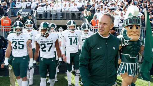 The Spartans downed the Nittany Lions for the second year in a row.