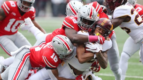 ohio state battles through another slow start to defeat