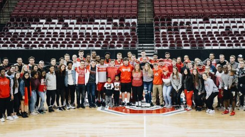 Ohio State basketball practice open to students