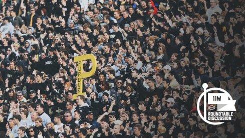 Ohio State takes on Purdue tomorrow night in Ross-Ade Stadium.