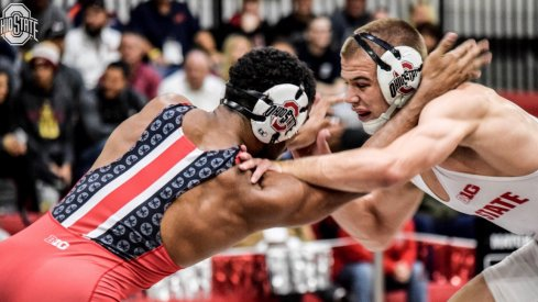 Ke-Shawn Hayes battles Micah Jordan