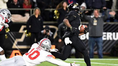 Rondale Moore helped bury the Buckeyes on Saturday night.