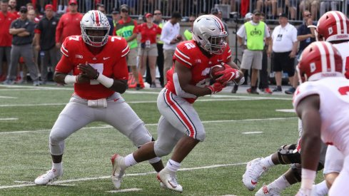 To be successful near the goal-line, Ohio State must be able to run the football effectively.