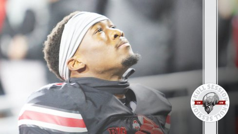 Johnnie Dixon looks icy in his black uniform in today's Skull Session.