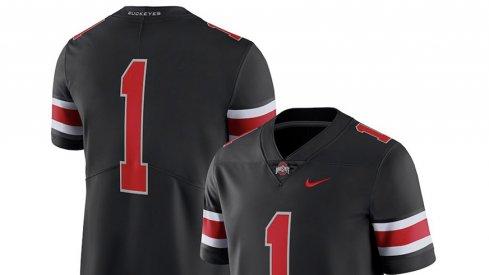 The black jersey Ohio State will wear against Nebraska is on sale.