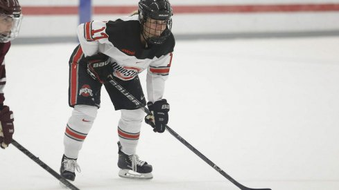Emma Maltais and the women's hockey Buckeyes prepare to square off against St. Cloud State.