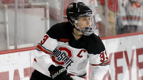 Jincy Dunne-o-mite potted a pair of assists for Ohio State against St. Cloud State.