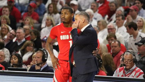 Chris Holtmann and Luther Muhammad