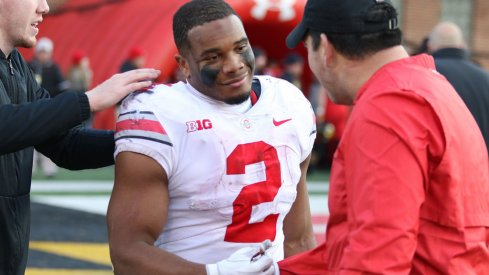 J.K. Dobbins after Ohio State win over Maryland