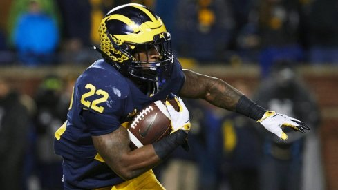 Karan Higdon guarantees a victory.